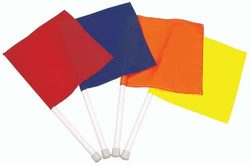 Hand-Held Flags - Set of 4