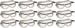 Ventilated Goggles - Set of 12