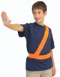 Orange Safety Patrol Belt - Medium