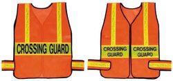 Crossing Guard Vest - Orange w/ Lime (Standard)