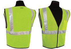 ANSI Class II Compliant Vest - Lime (4XL-5XL)