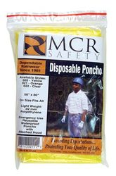 Disposable Ponchos - Yellow (Dozen)