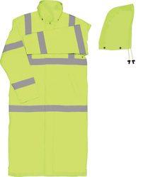 """50"""" Rain Coat Lime-Lrg"""