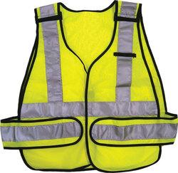 ANSI 5-Point Break-Away Safety Vest - Lime Green