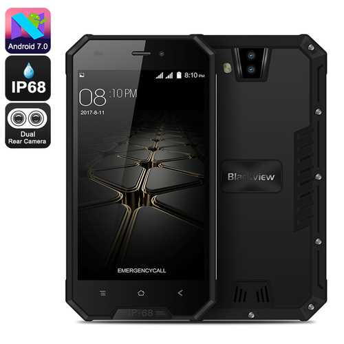 Blackview BV4000 Pro Rugged Phone (Black)