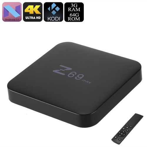 Z69 Max Android TV Box