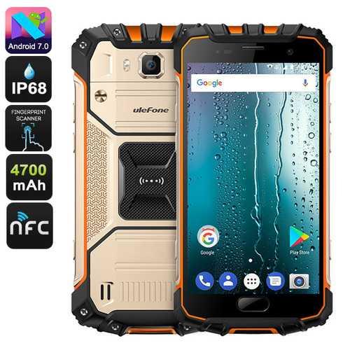 Ulefone Armor 2S Rugged Smartphon (Gold)