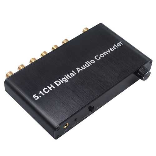 5.1 CH Digital Audio Converter Decoder
