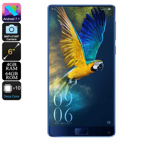 Elephone S8 Android Phone (Blue)