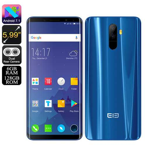 Elephone U Android 7.1 Blue(6+128)