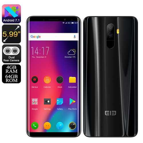 Elephone U Android 7.1 Black(4+64)