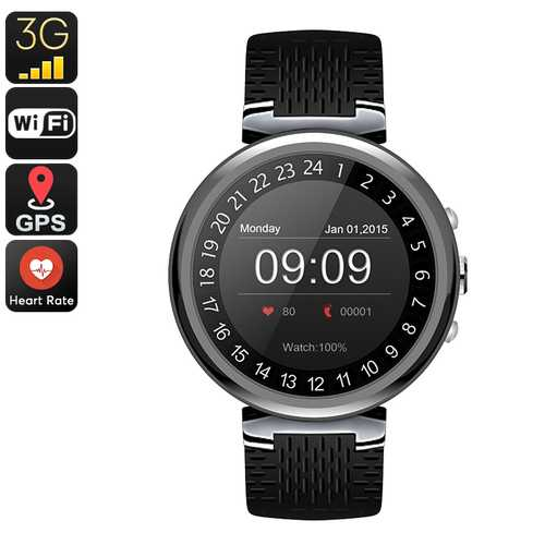 IQI I6 Smart Watch Phone (Black)