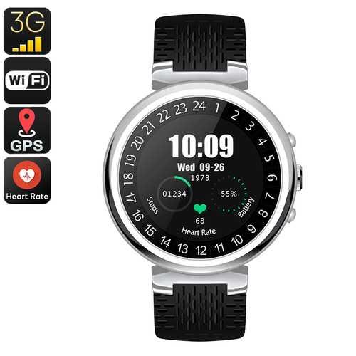IQI I6 Smart Watch Phone (Silver)