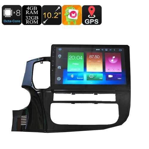 Mitsubishi One Din Car Media Player