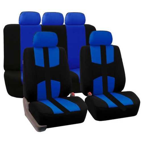 9Pcs Car Seat Covers