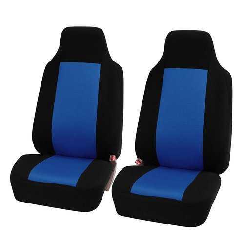 2pcs/set Universal Car Front Seat Cushion-Blu