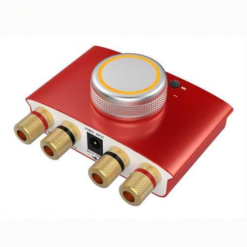 Lepy-168mini 100W Amplifier Red US Plug