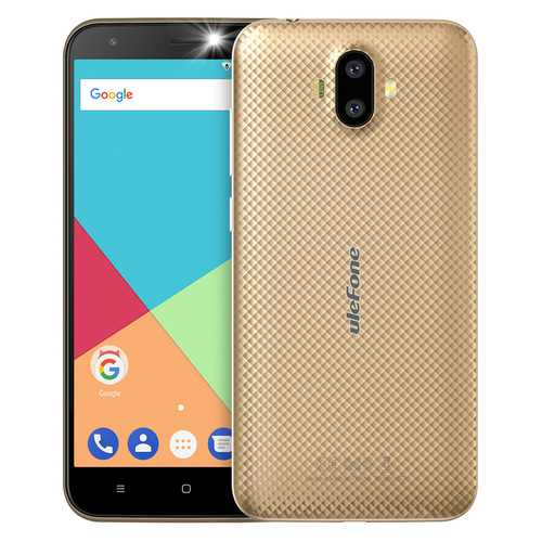 Ulefone S7 Smart Phone - Gold
