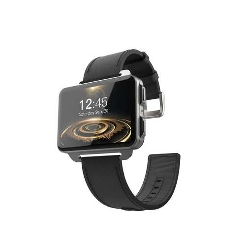 LEMFO LEM4 Pro 3G Smart Watch, Black