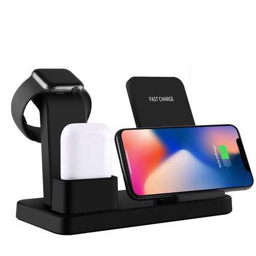 Apple Watch  10W Qi Wireless Charger black