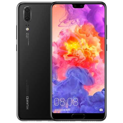 Huawei P20 6+128 GB Smartphone - Black