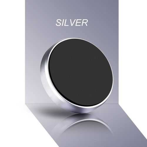 Stand Magnetic Cellphone Holder- Silver