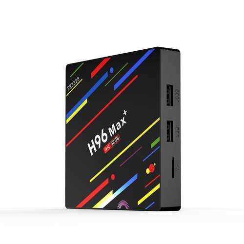 H96 Max Android 8.1 Smart TV Box UK Plug