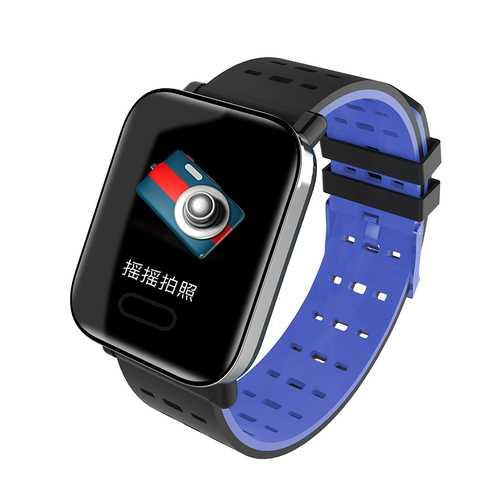 Blue Color Screen Smart Bracelet