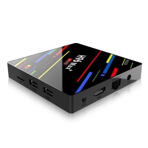 H96 Max + 4GB 32GB TV Box US PLUG