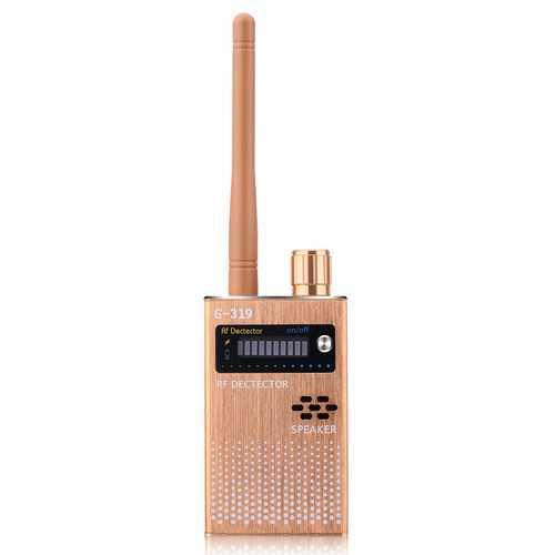 Gold EU Wireless RF Signal Detector