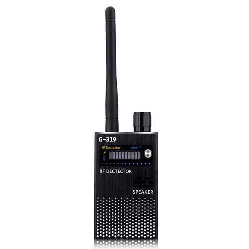 Black EU Wireless RF Signal Detector