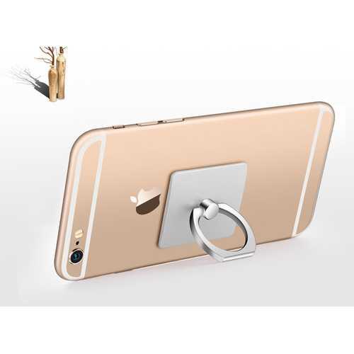 Portable Finger Ring Phone Holder - Silver