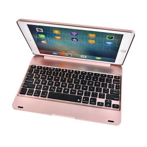 iPad Air1Air2Pro Bluetooth Keyboard Rosegold