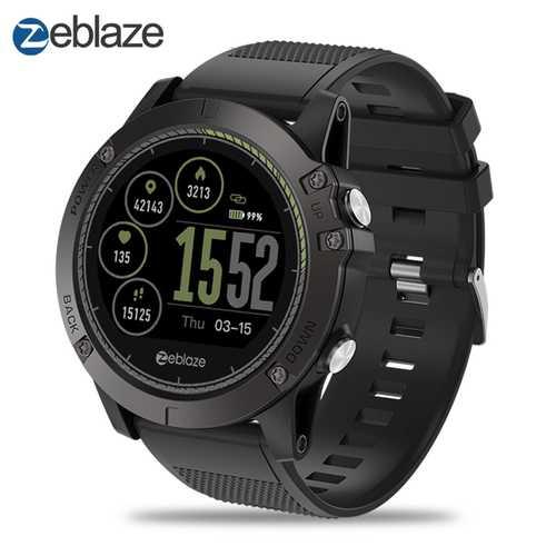 Zeblaze VIBE3 HR IP67 Smartwatch - Black