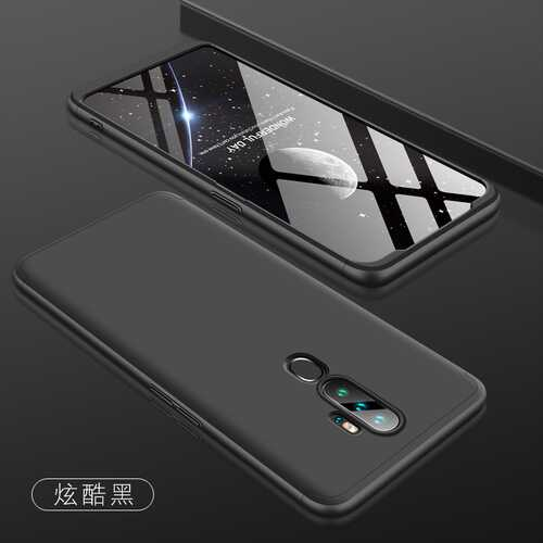 For OPPO A5 2020/A11X Cellphone Cover Hard PC Phone Case Bumper Protective Smartphone Shell black