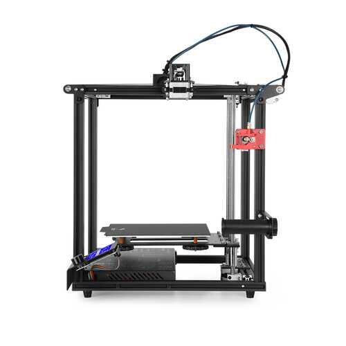 3D Ender-5 Pro Upgraded 3D Printer Pre-installed Kit Black EU Plug black_British regulatory