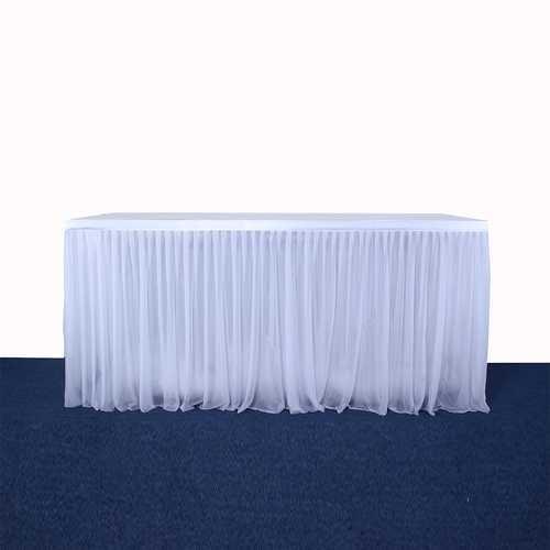 Stretch Yarn Table Skirt Decoration