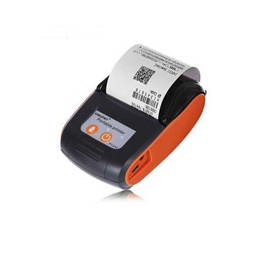 58MM Portable Wireless Bluetooth Thermal Printer Receipt Machine Support ESC / POS for Windows Android iOS