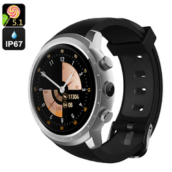 Android 5.1 Watch Phone(Sliver)