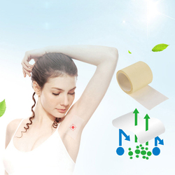 6 M/1 Roll Unisex Armpit Sweat Pads Thinness Breathable Perspiration Pads Transparent Deodorant Antiperspirant