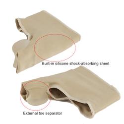 1 Pair Unisex Toe Separator Pedicure Socks