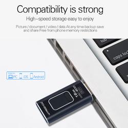 4 in 1 Micro Stick OTG Pen Drive Black_16G