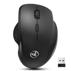 2.4g Wireless Mouse Mute Vertical Mouse 6d External Battery Design Computer Office Mouse  Ergonomic Bluetooth Mouse black