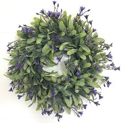 Artificial Wreath Flowers Door Hanging