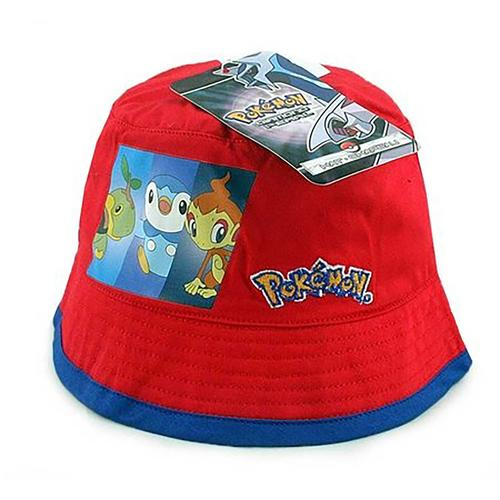 Pokemon Toddler Bucket Hat [Red]