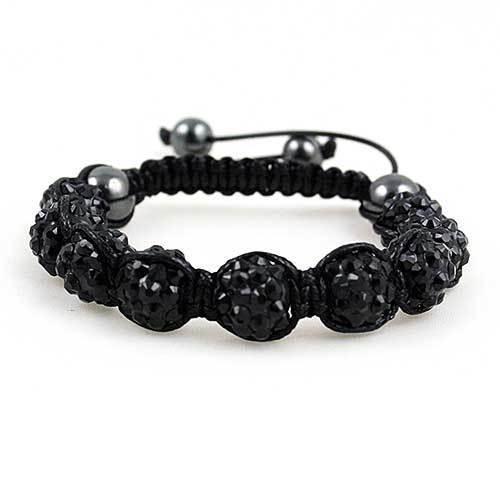 Shamballa Bracelet [Black]