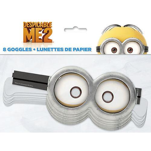 Despicable Me Paper Goggles [8 Per Pack]