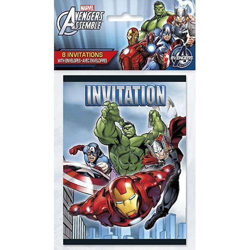 Marvel's Avengers Invitations [8 Per Package]
