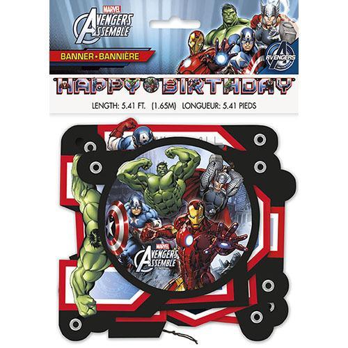 Marvel's Avengers Jointed Birthday Banner