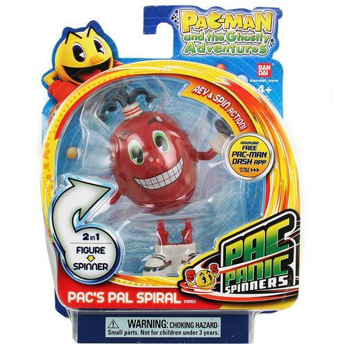 Pac Panic Spinners [Pac's Pal Spiral]
